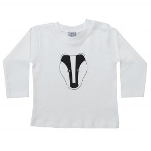 Babies Badger T-Shirt - Long Sleeve
