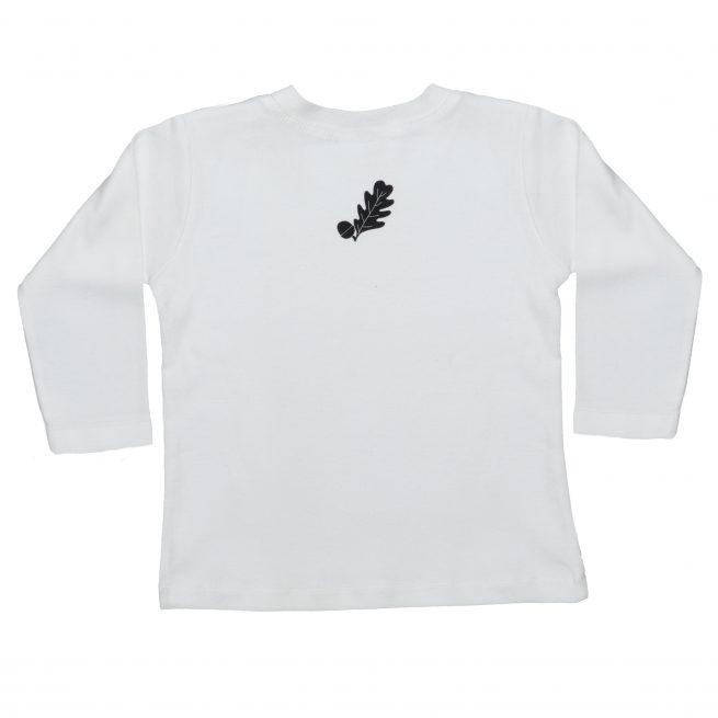 Babies Badger T-Shirt Rear - Long Sleeve