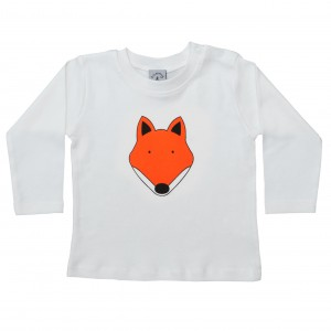 Babies Fox T-Shirt - Long Sleeve