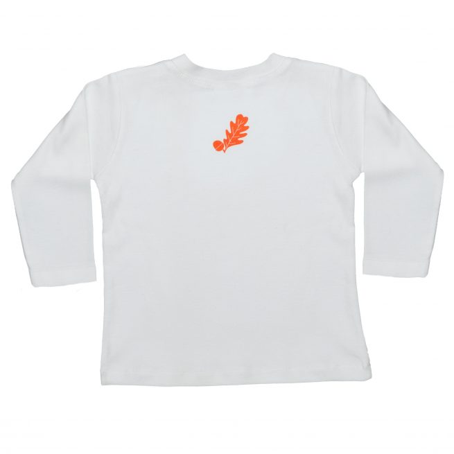 Babies Fox T-Shirt Rear - Long Sleeve