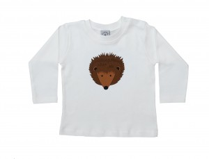 Babies Hedgehog T-Shirt - Long Sleeve