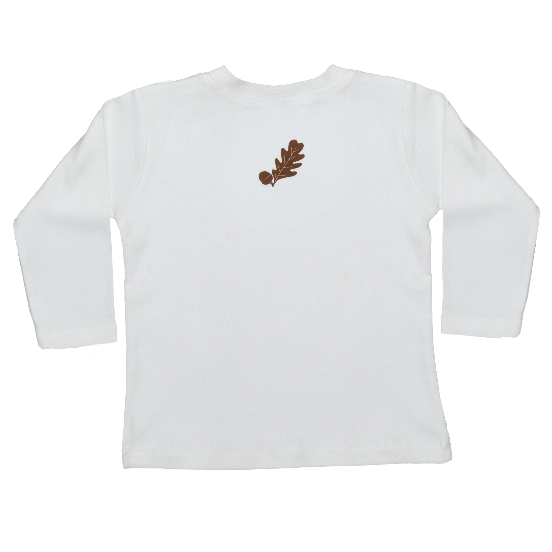 Babies Hedgehog T-Shirt Rear - Long Sleeve