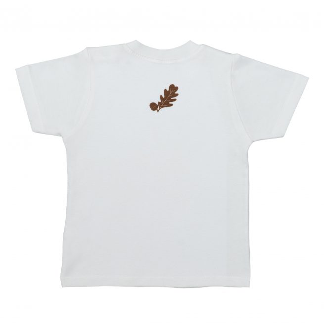 Babies Hedgehog T-Shirt Rear - Short Sleeve