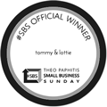 Theo Paphitis Small Business Sunday Award