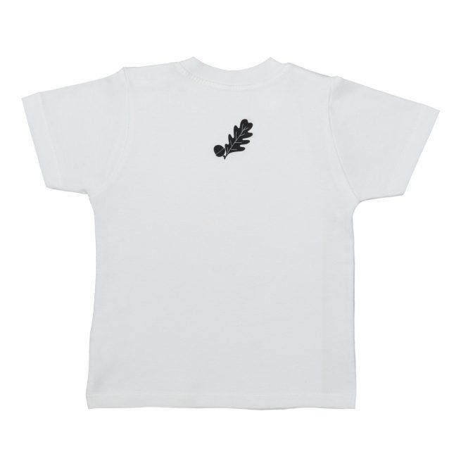 Babies Badger T-Shirt Rear - Short Sleeve