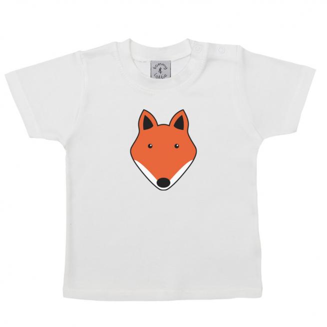 tommy & lottie baby short sleeve fox t shirt