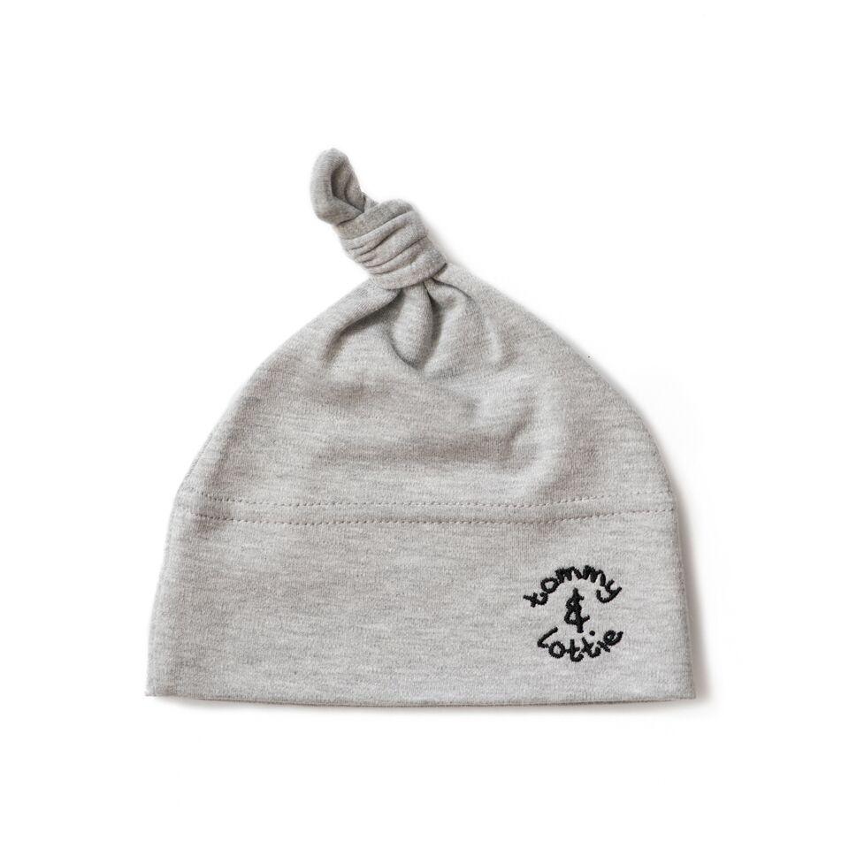 Unisex Baby Hat Grey