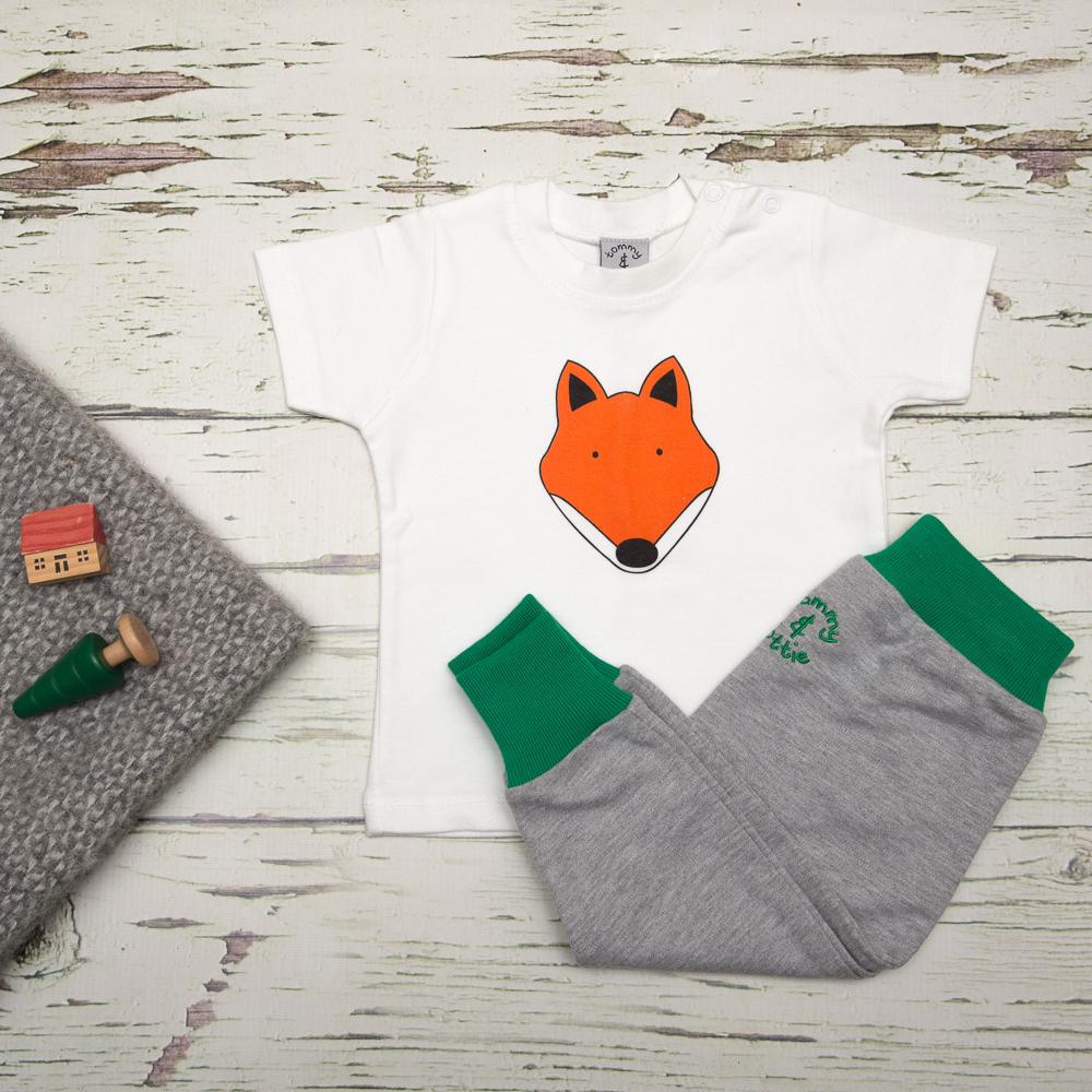 tommy & lottie fox t shirt & harem