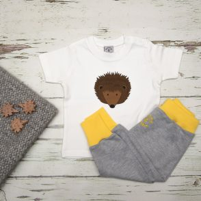 tommy & lottie hedgehog t shirt & harem