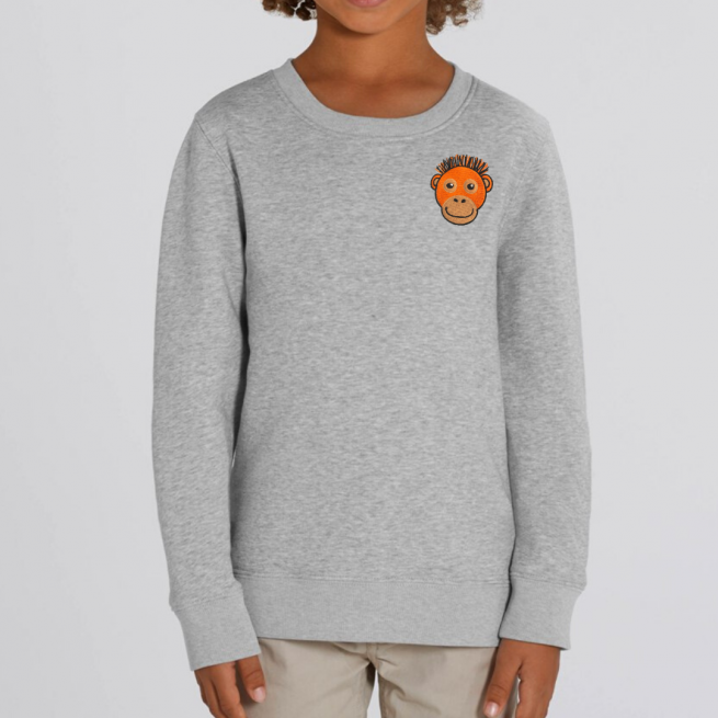 tommy and lottie kids orangutan sweatshirt