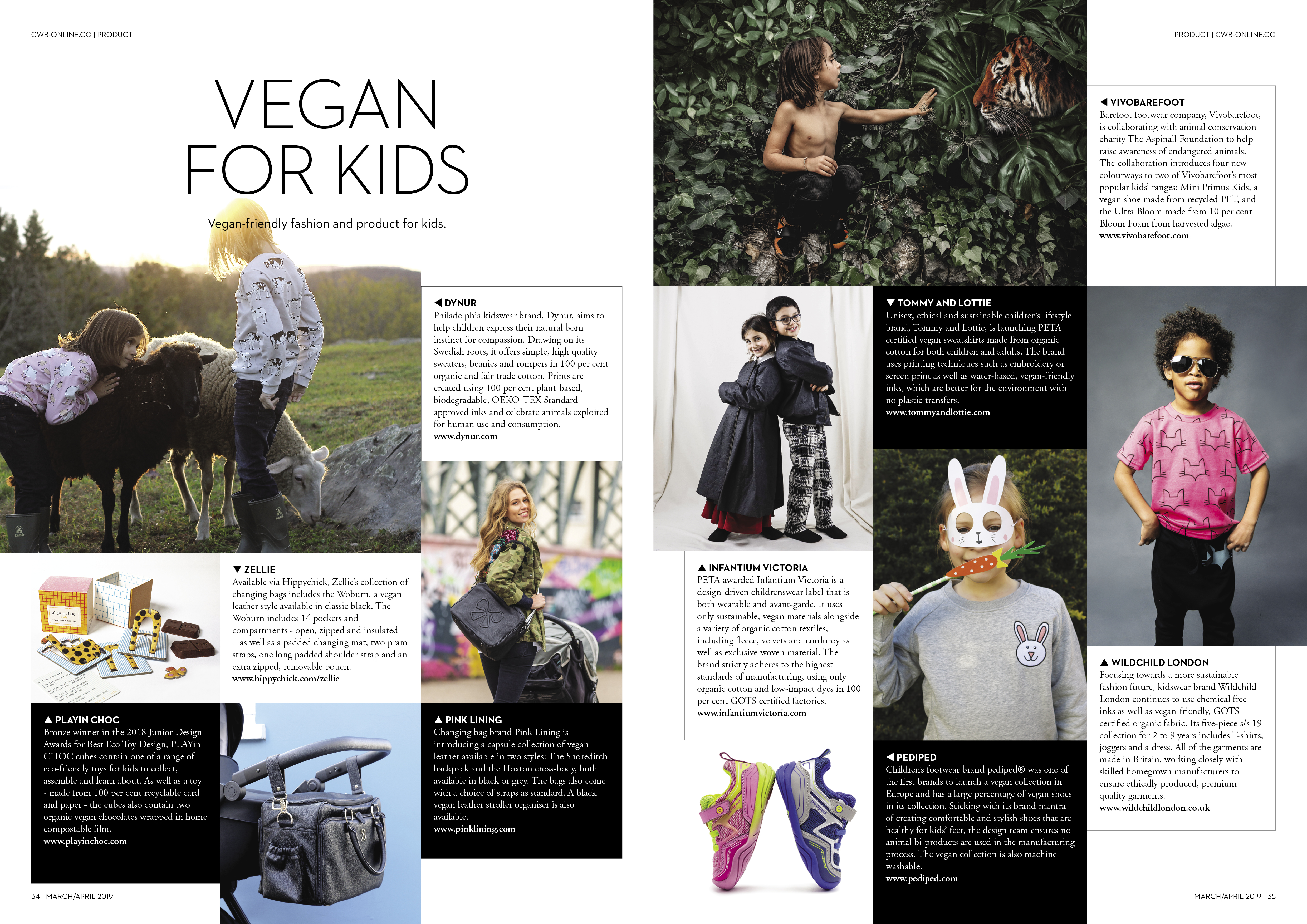 e90d7d850 Vegan childrens clothing feature in CWB Magazine - tommy and lottie