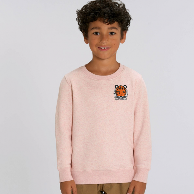 tommy-lottie-childrens-organic-tiger-sweatshirt-pink-cream-marl