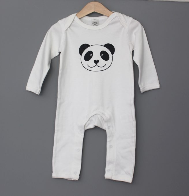 panda baby grow by tommy and lottie