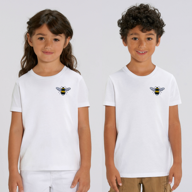 tommy and lottie organic cotton kids bee t shirt