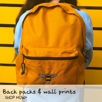 shop tommy & lottie back packs and wall prints