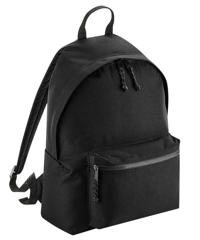 tommy & lottie recycled polyester back pack - black