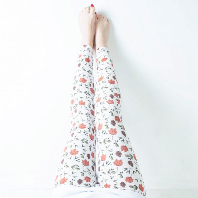 Tommy & Lottie Organic Cotton Adult Leggings - Front