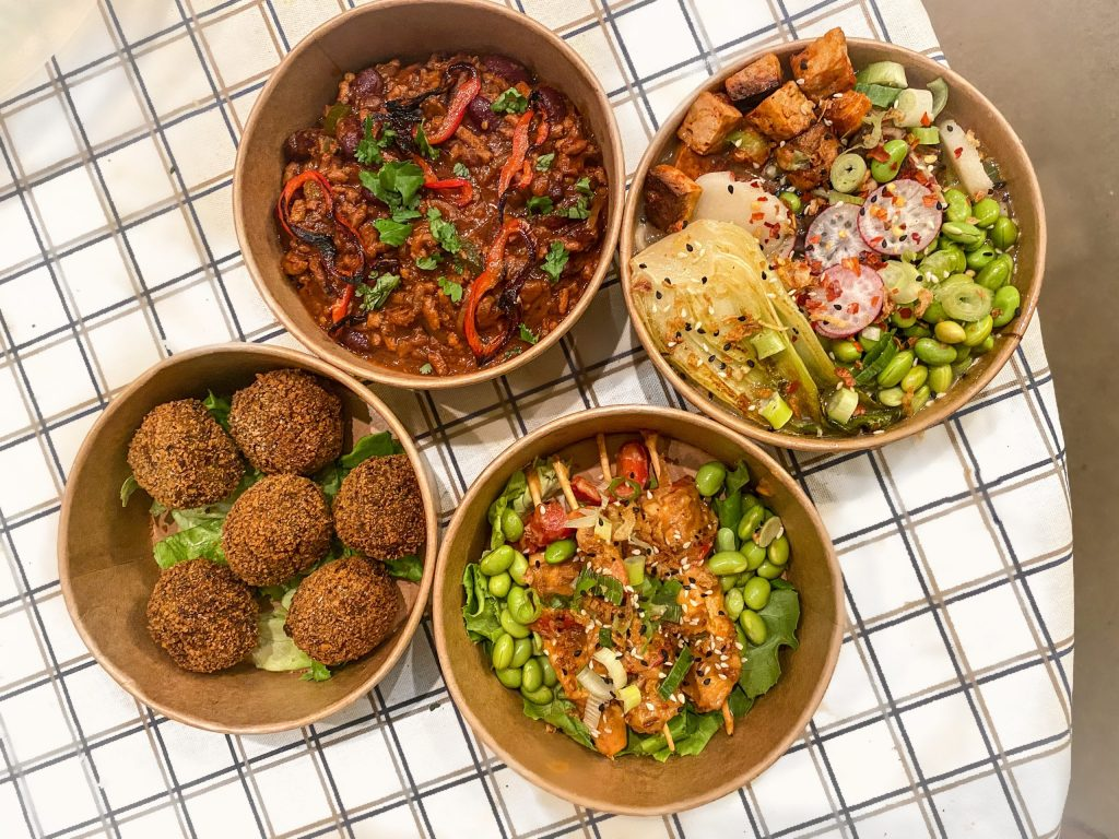 Plantopia vegan takeaway dishes