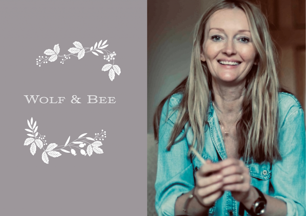 wolf and bee - lizzy kyriacou - inspirational women