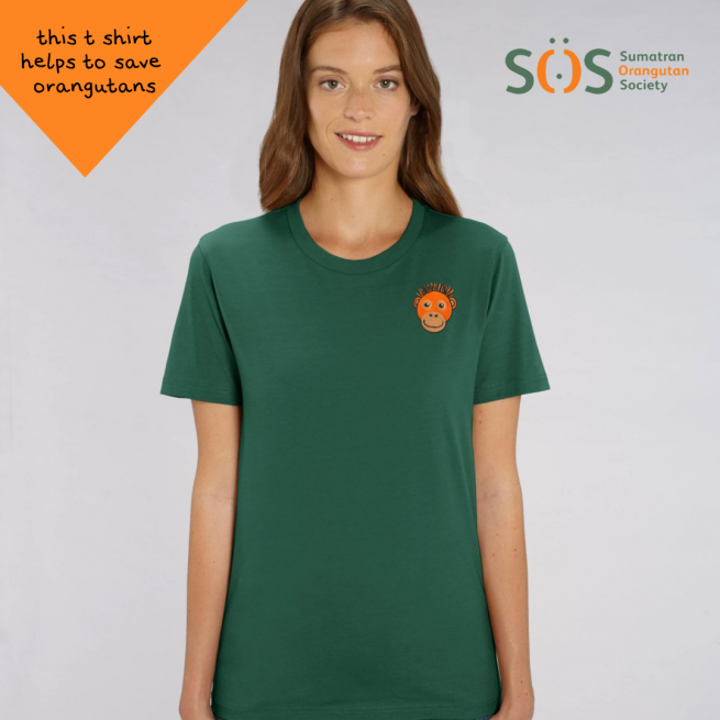 save the orangutans t shirt by tommy & lottie
