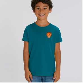 Tommy & Lottie Organic Cotton Kids Ocean Depth Orangutan T Shirt