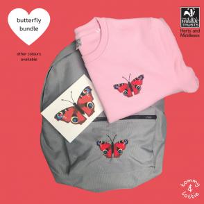 tommy & lottie butterfly gift set
